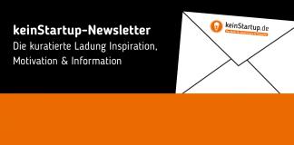 keinStartup-Newsletter-Banner