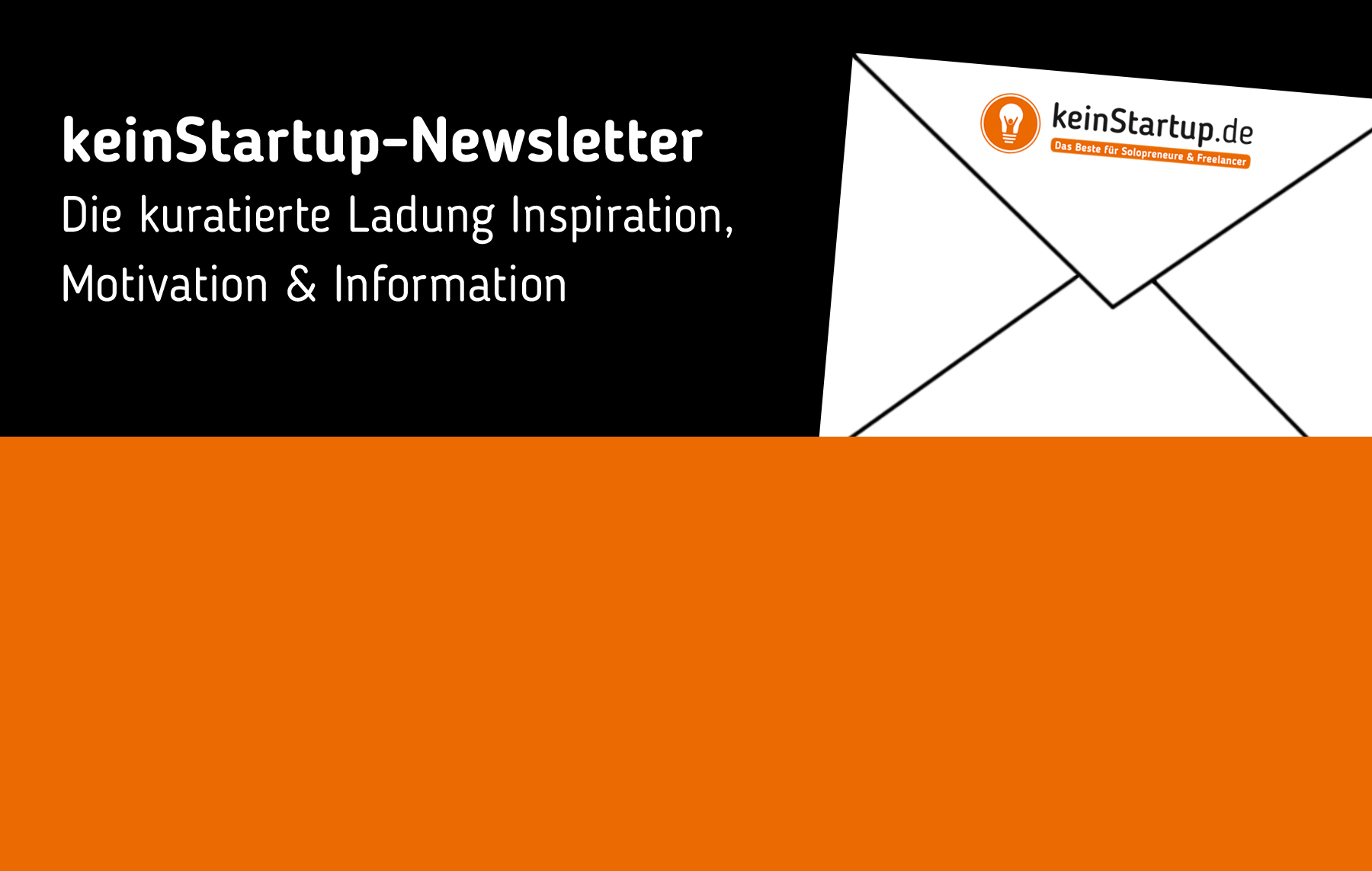Newsletter #11: Businessplan, E-Mail-Marketing, Selbstbild