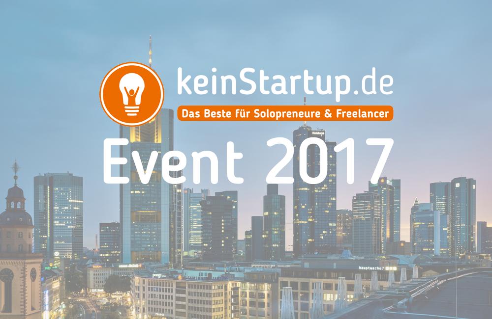keinStartup-Event 2017